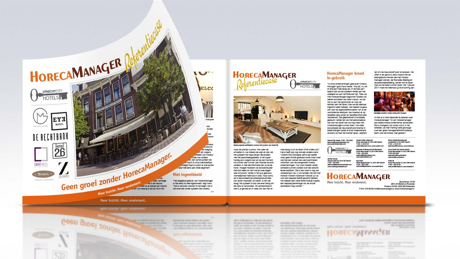 Layout | Horeca Manager | 2